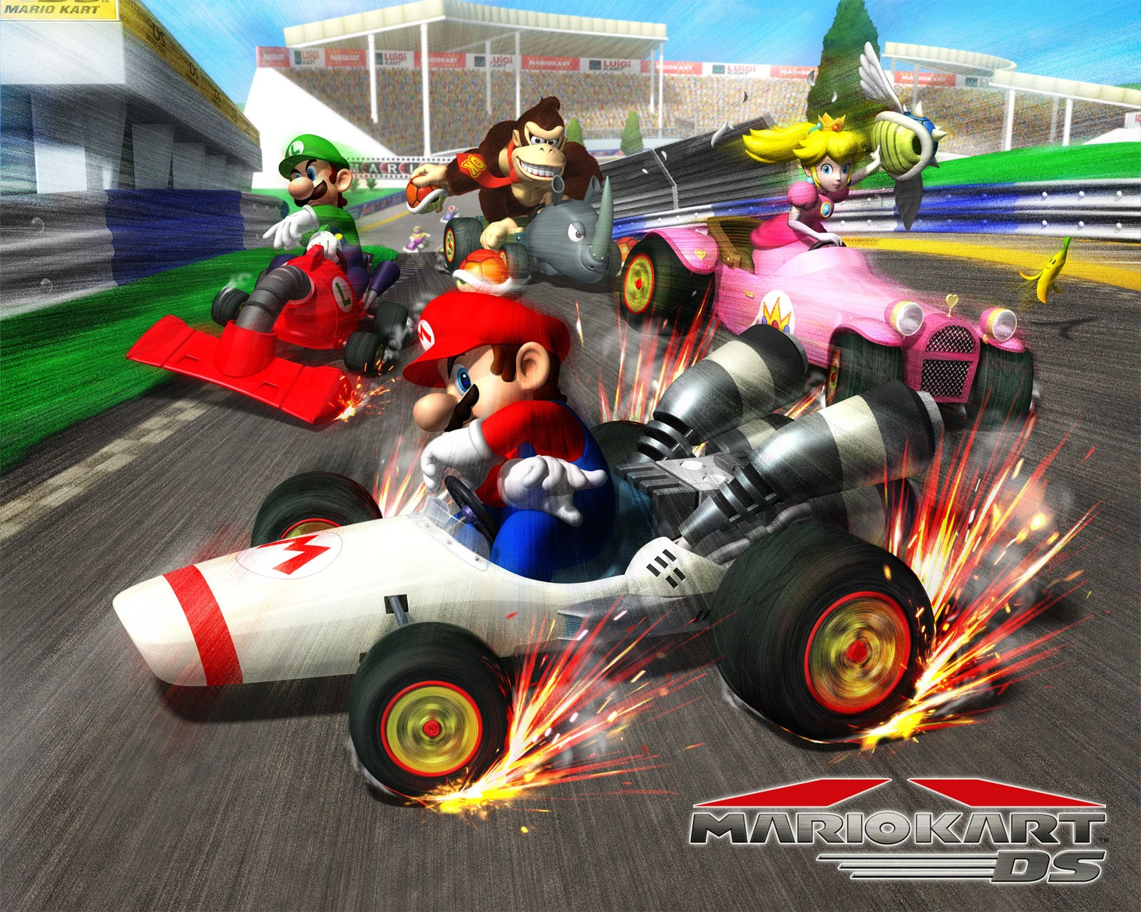 Super Mario Car Games Online