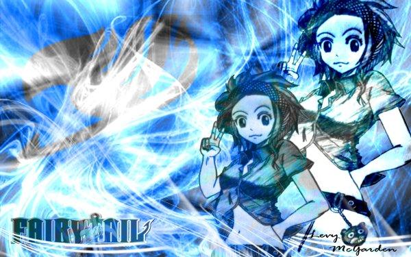 Anime Fairy Tail Levy McGarden Fond d'écran HD | Image