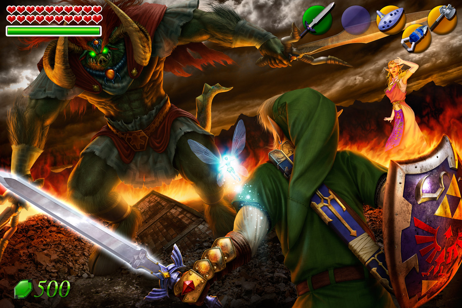 the legend of zelda: ocarina of time wallpaper and background image