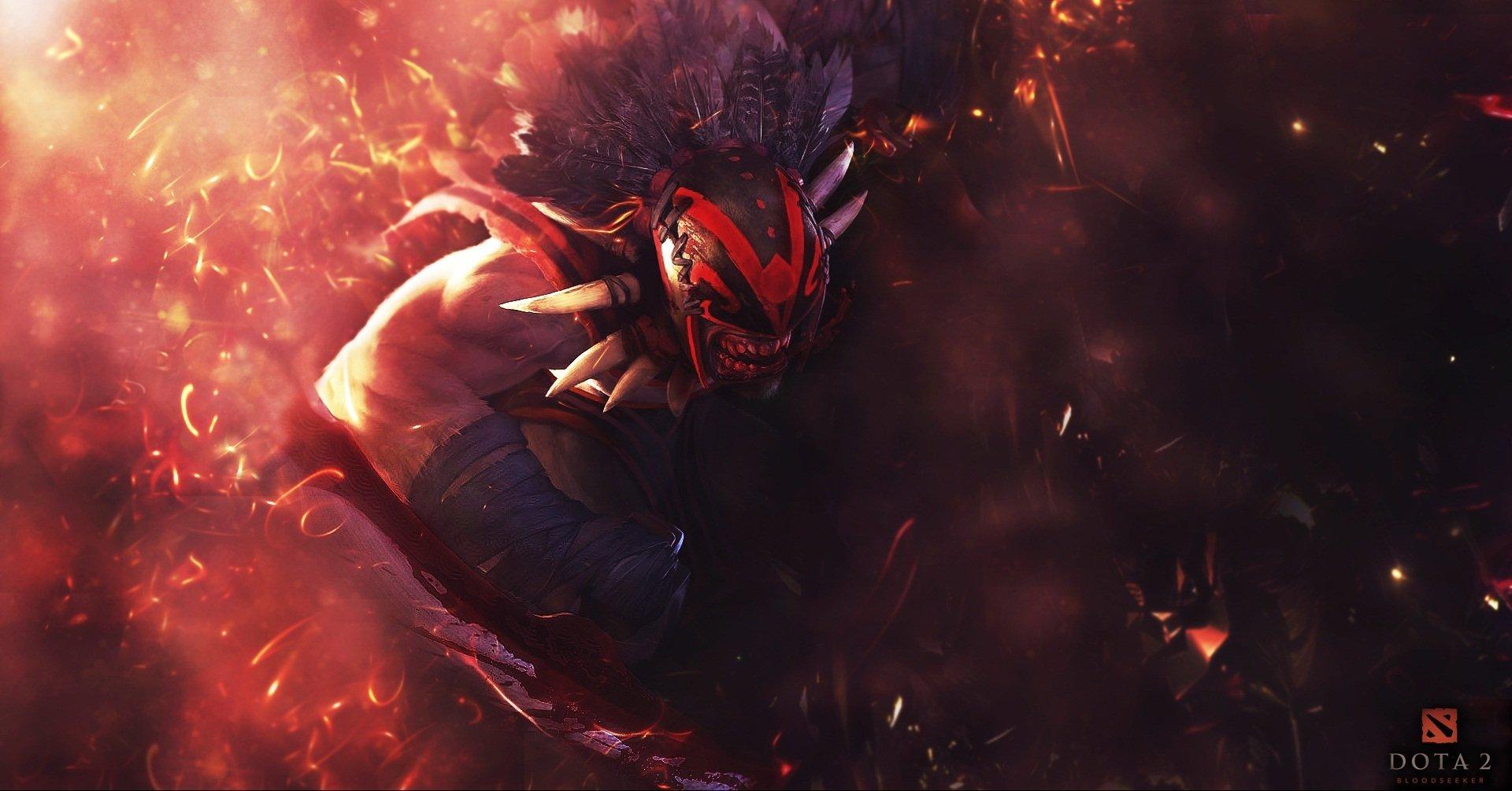Bloodseeker DotA 2 HD Wallpaper