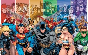 90 Justice League Of America HD Wallpapers