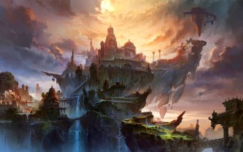 Fantasy - City Wallpapers and Backgrounds ID : 322072