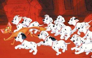 Preview Cartoon - 101 Dalmatians Art