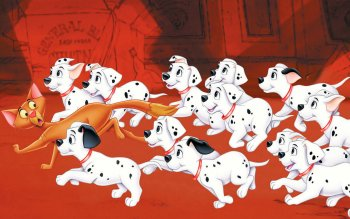 Preview Cartoon - 101 Dalmatians Art