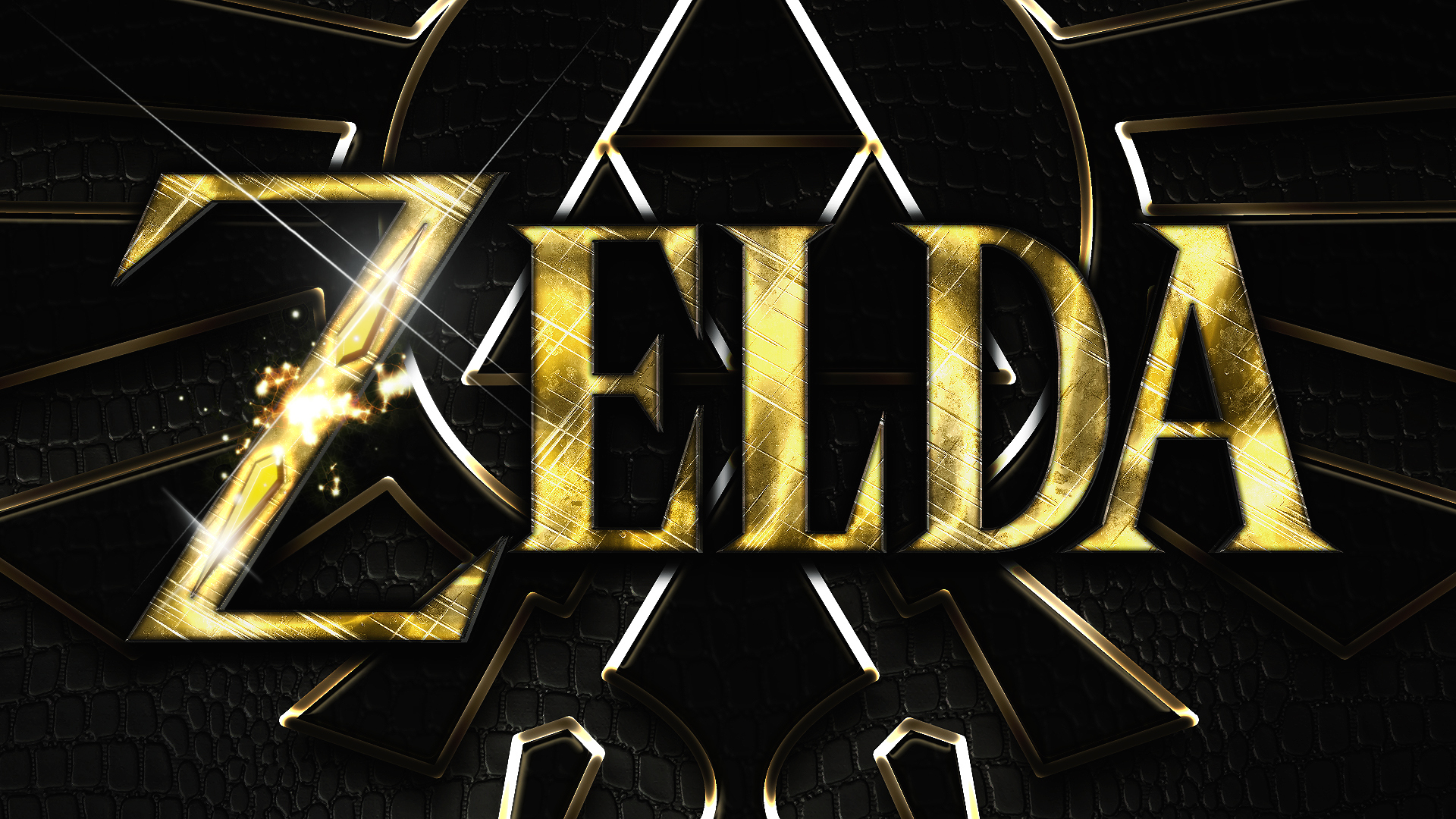 zelda typo Full HD Wallpaper and Background Image