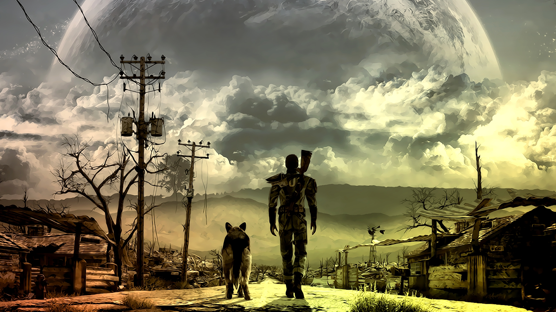Fallout 3 full hd wallpaper and background image 1920x1080 id324425 video game fallout 3 wallpaper altavistaventures Gallery
