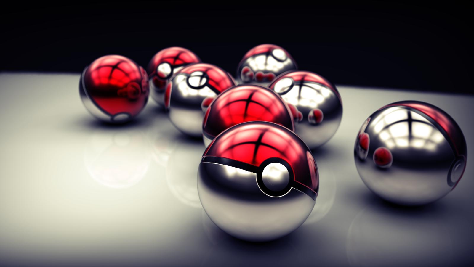 Anime - Pokémon  Pokeball Wallpaper