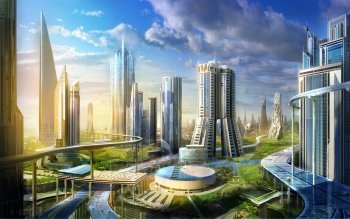 Science-Fiction - Großstadt Wallpapers and Backgrounds ID : 324167