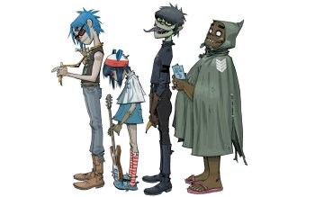 Music - Gorillaz Wallpapers and Backgrounds ID : 324338