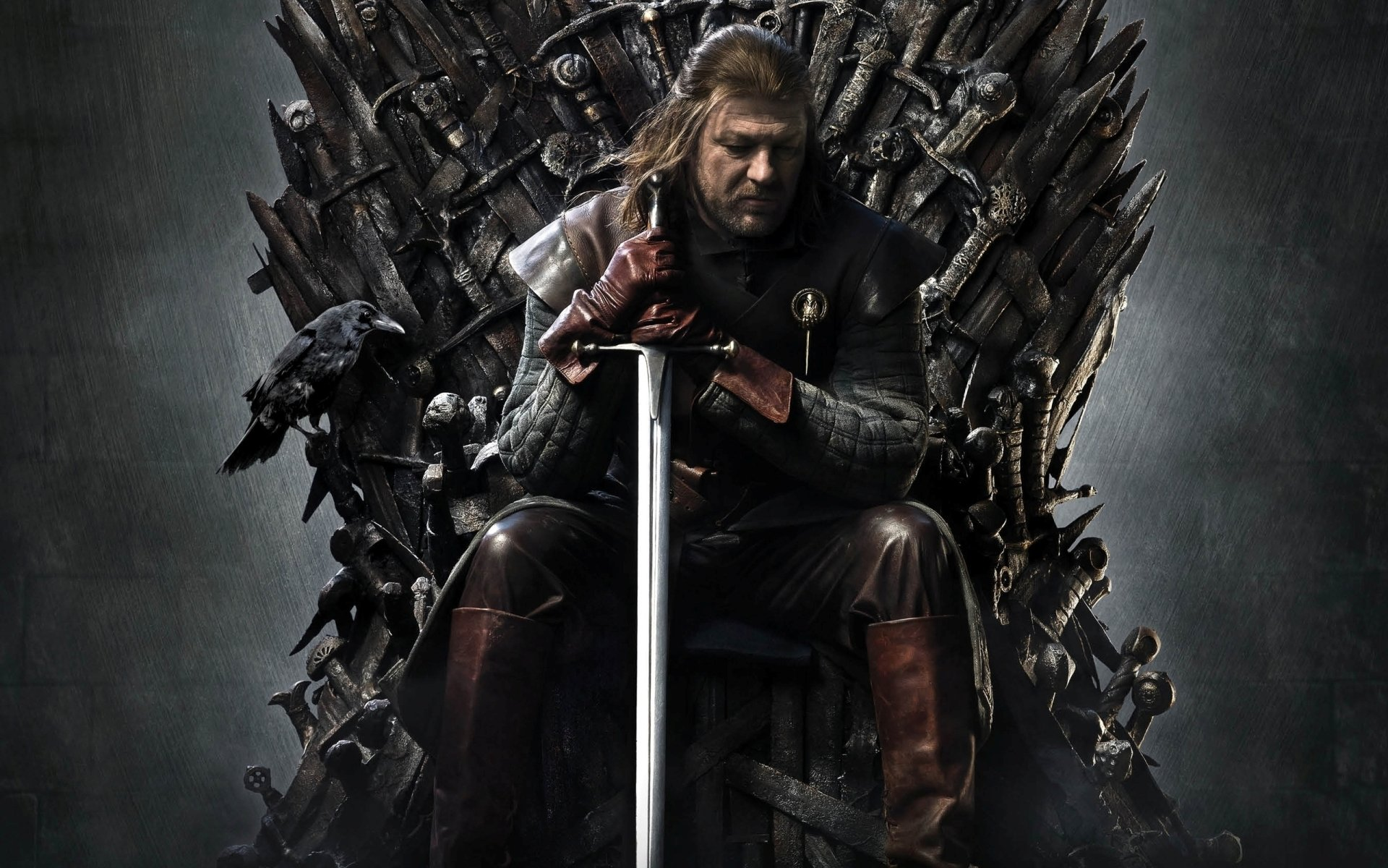 TV Show - Game Of Thrones  Iron Throne Eddard Stark Sean Bean Wallpaper