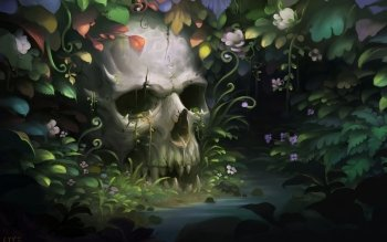 Dark - Skull Wallpapers and Backgrounds ID : 325813