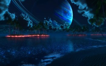 Sci Fi - Planet Rise Wallpapers and Backgrounds ID : 325893