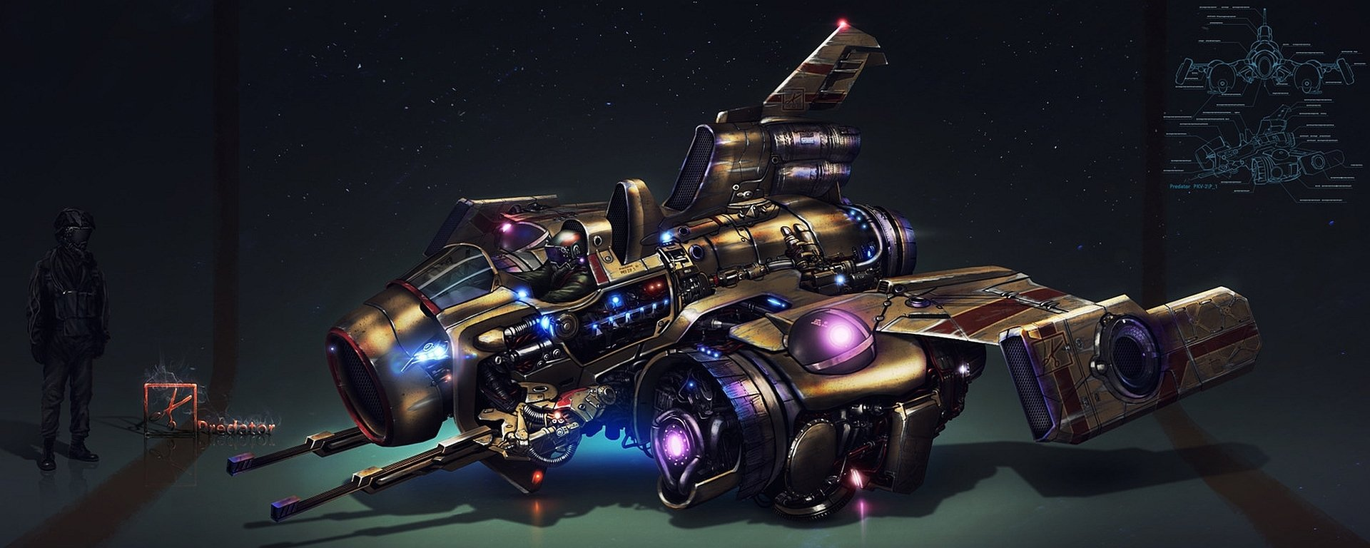 Spaceship Wallpaper And Background Image