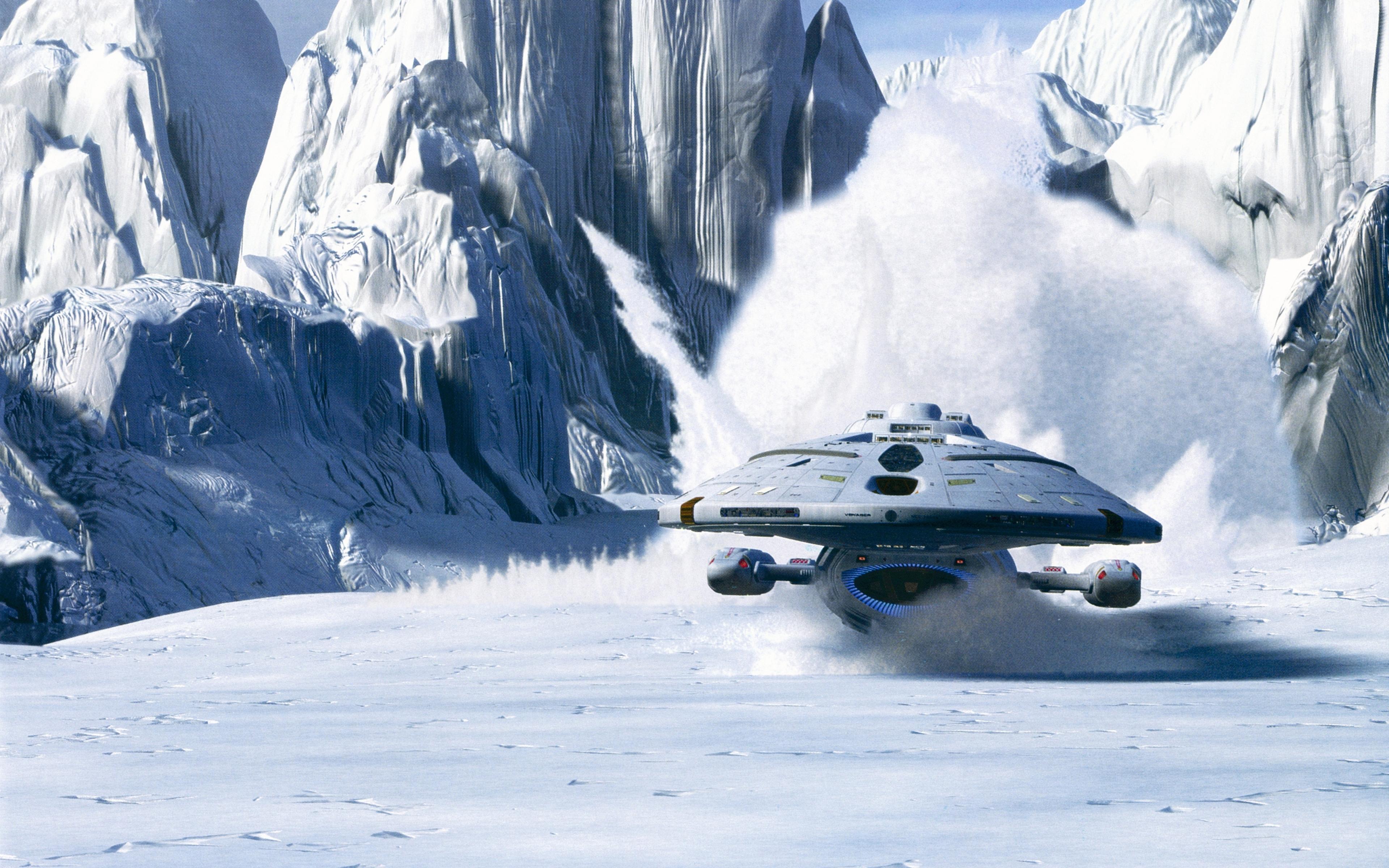 Voyager On Ice 4k Ultra Fondo De Pantalla Hd Fondo De