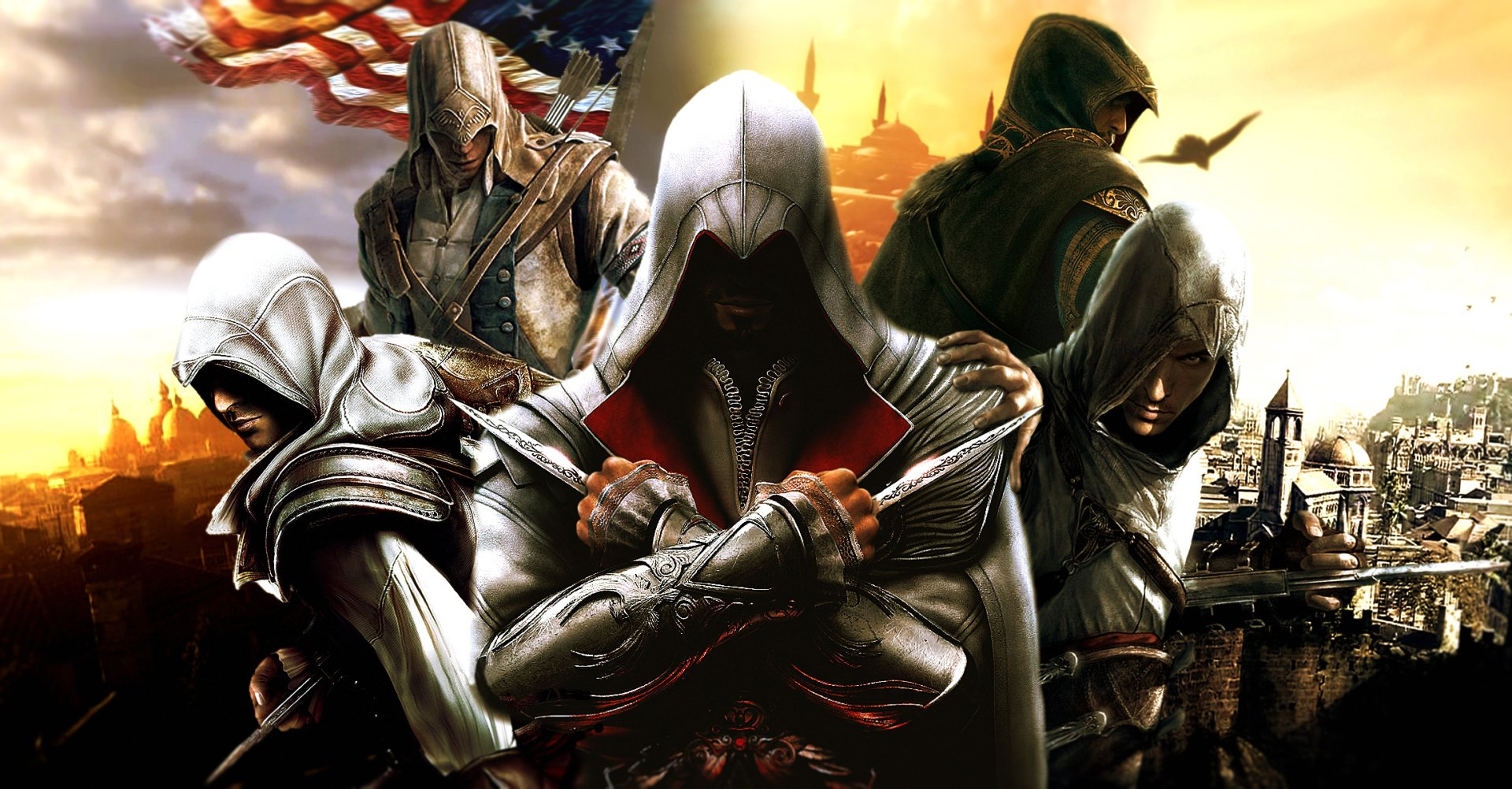 Video Game - Assassin's Creed  Ezio (Assassin's Creed) Altair (Assassin's Creed) Conor Wallpaper