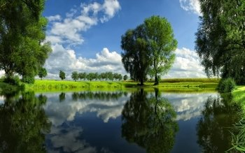 Earth - Reflection Wallpapers and Backgrounds ID : 327239