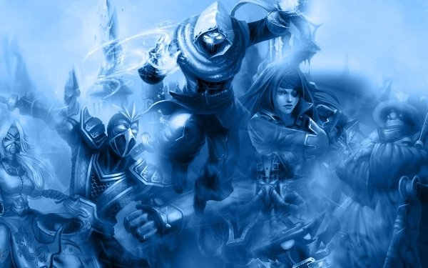 Video Game League Of Legends Malzahar Akali Shen Katarina Jax HD Wallpaper | Background Image
