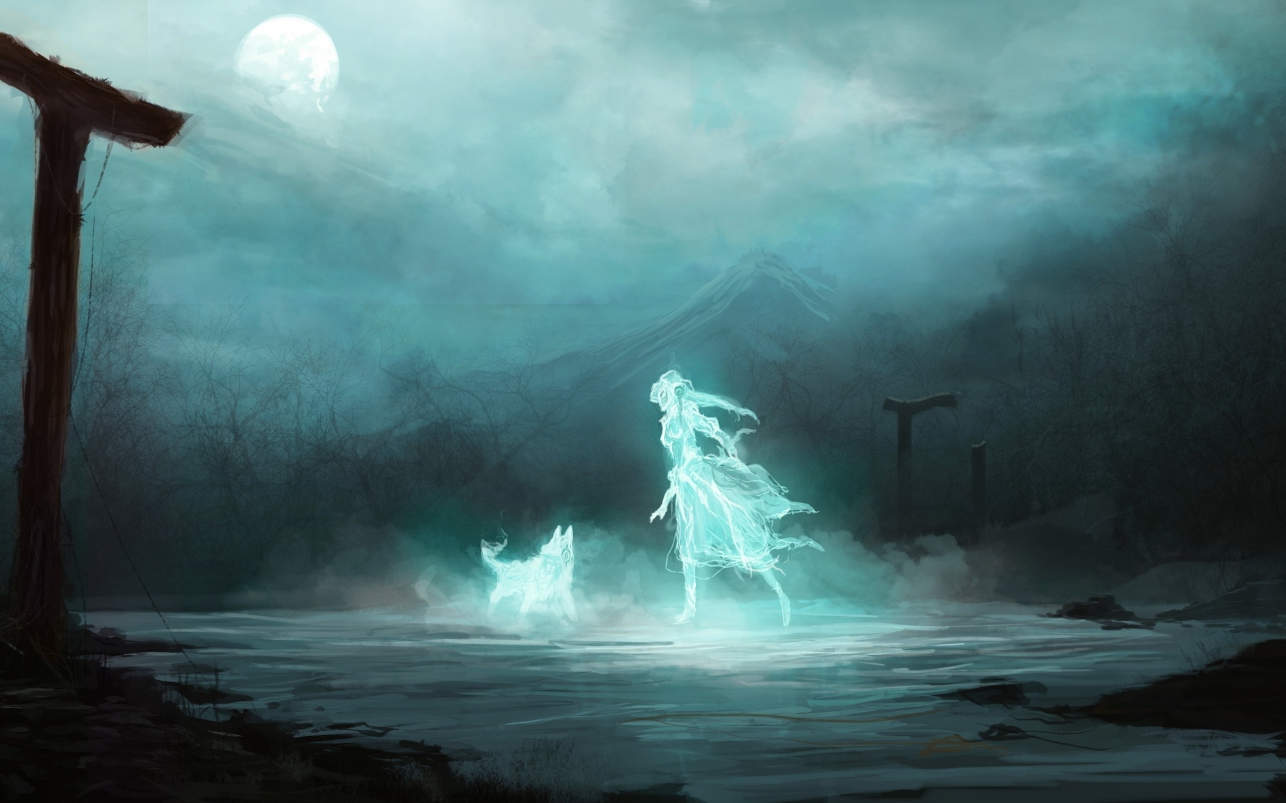 Ghost hd wallpaper background image 2560x1600 id - Ghost wallpapers for desktop hd ...