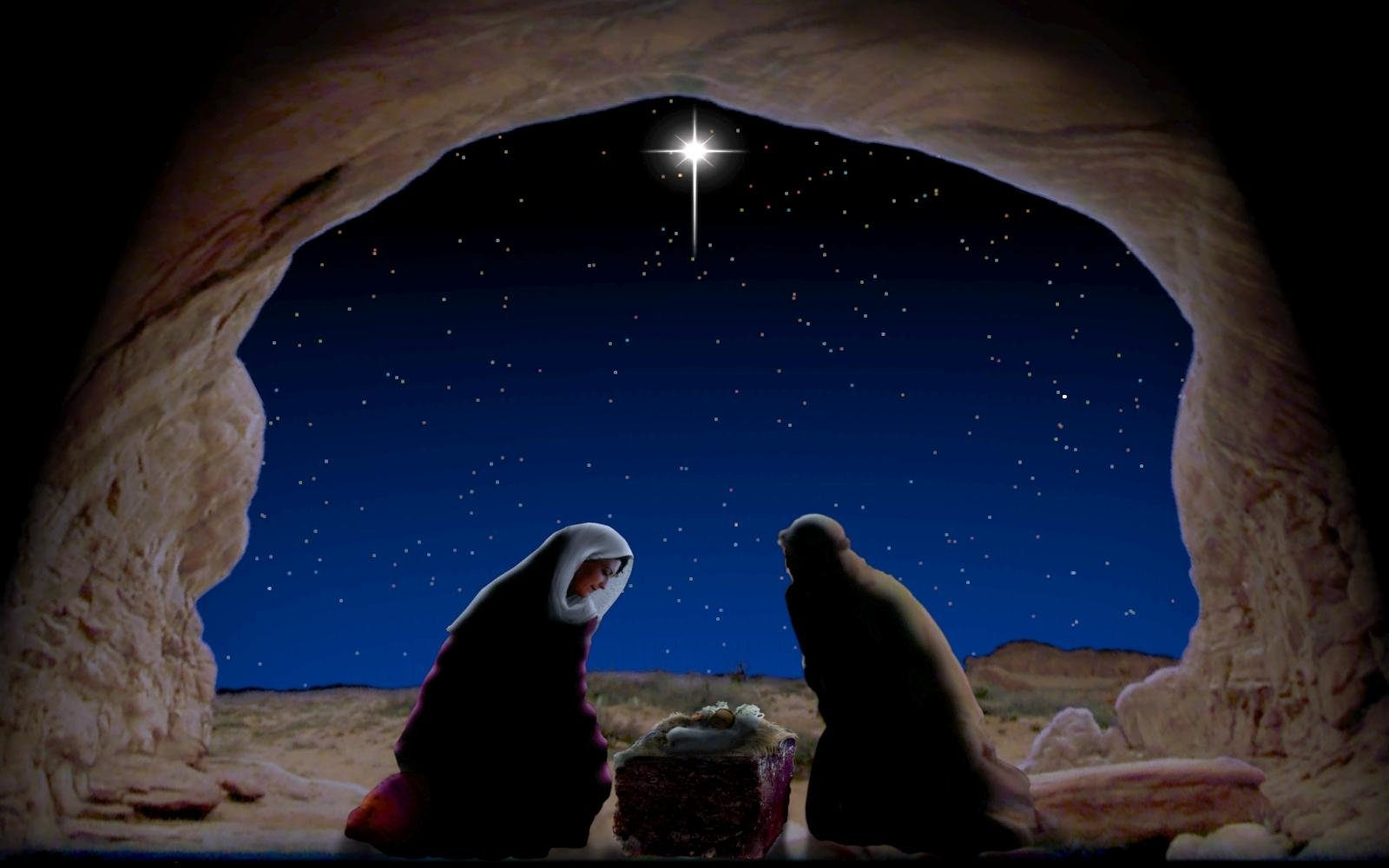 Christmas Jesus Nativity HD Wallpaper