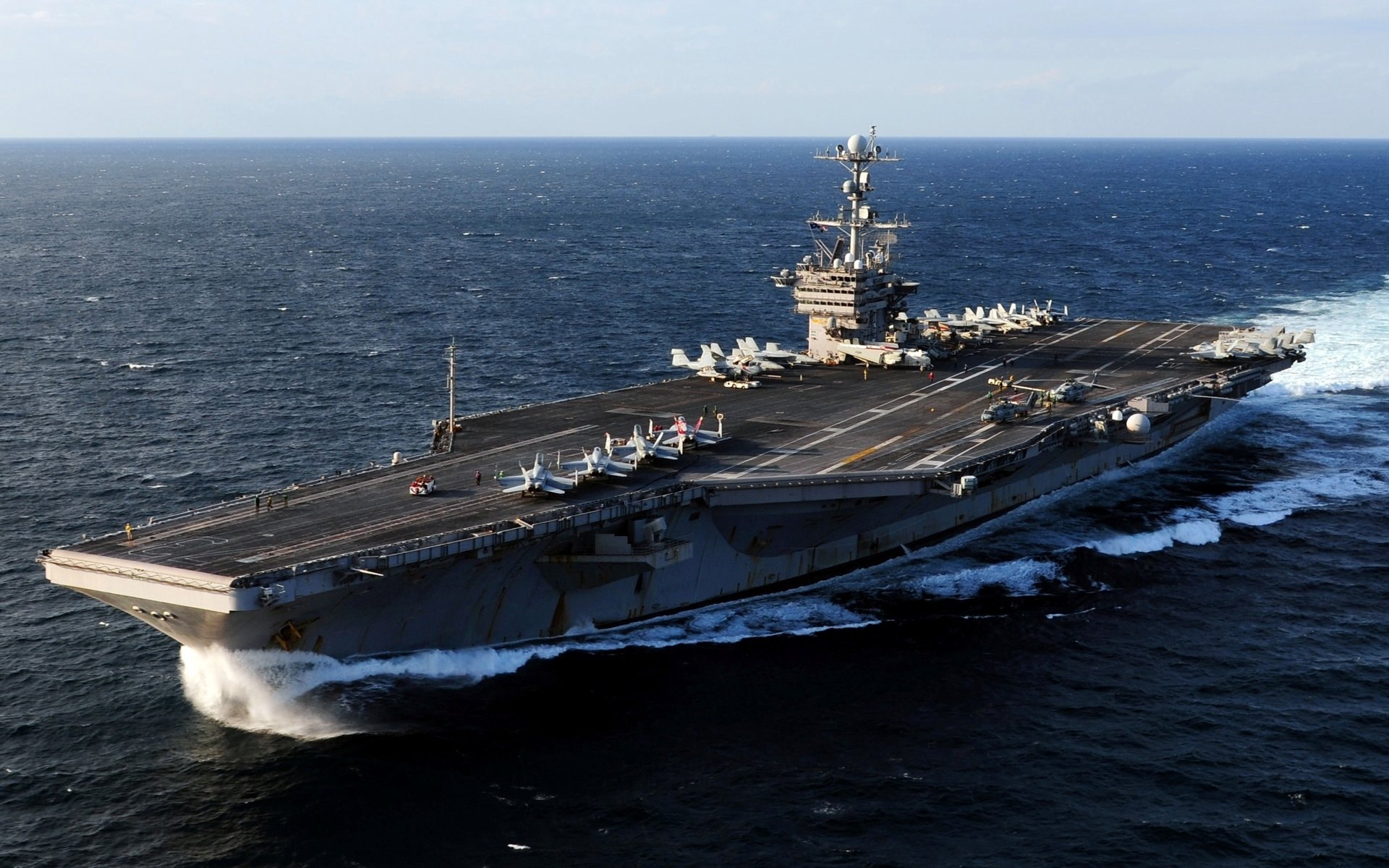 Military - USS George Washington (CVN-73)  Warship Aircraft Carrier Wallpaper