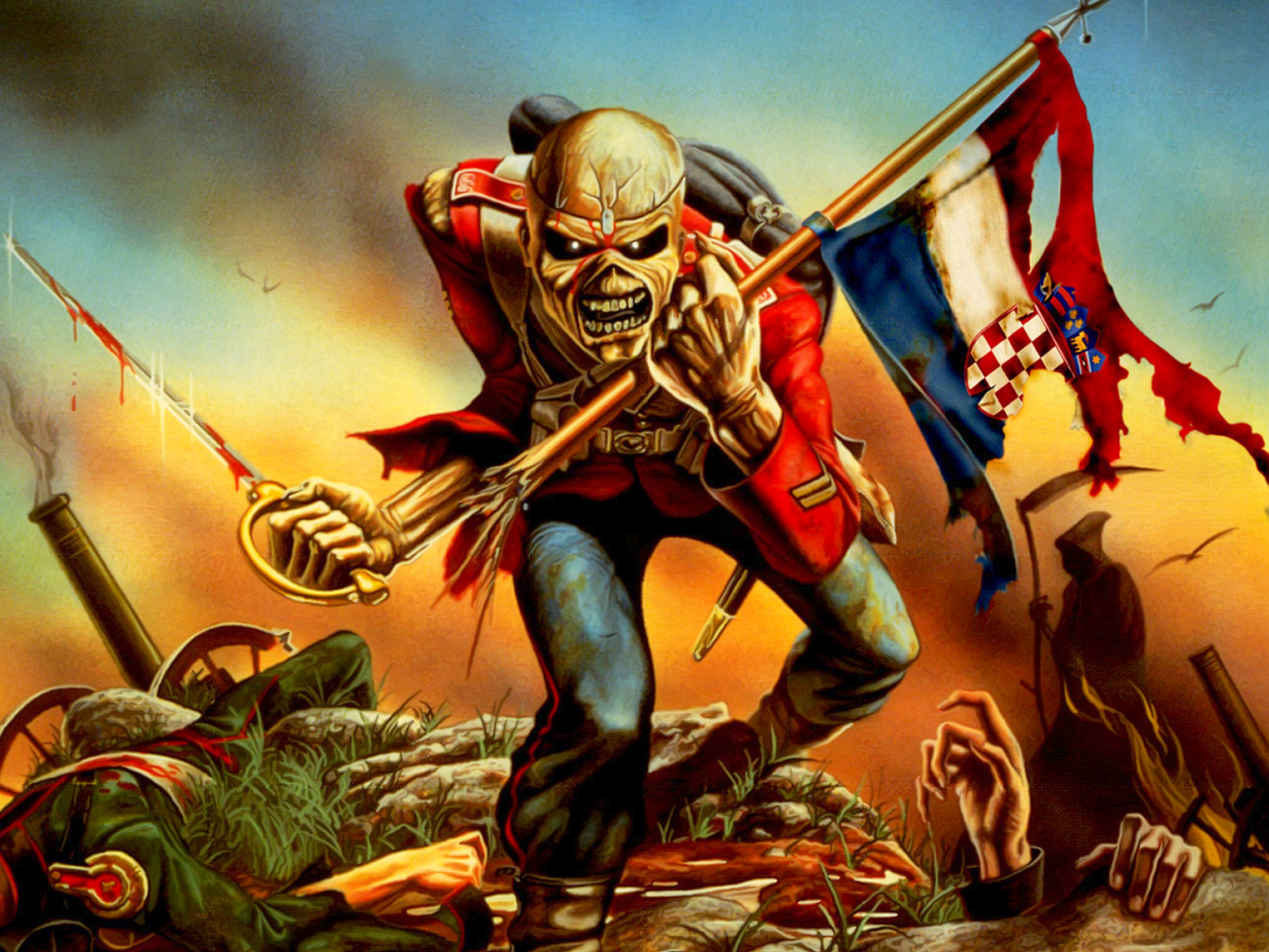 iron maiden full hd wallpaper and background image | 2560x1920 | id