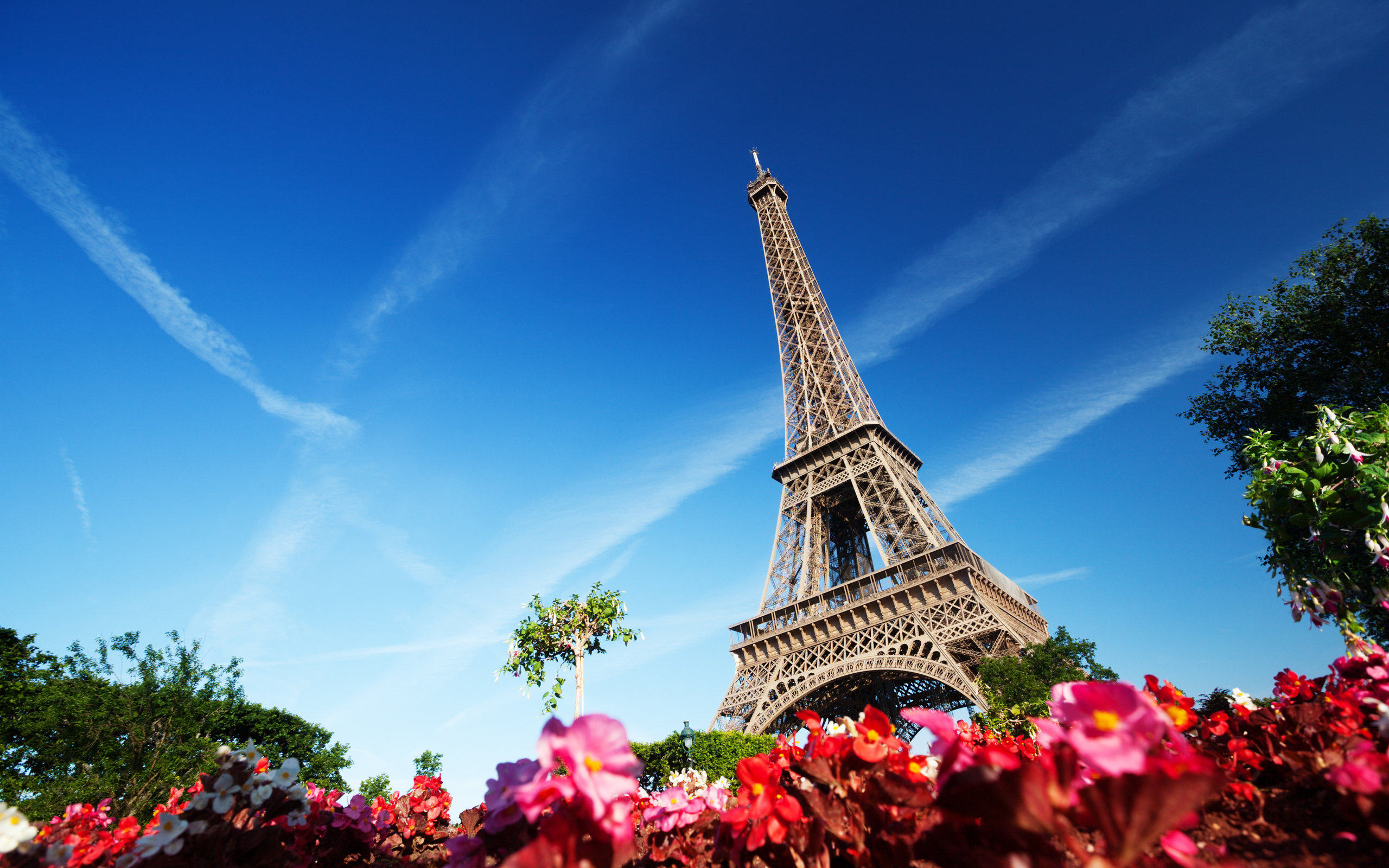 Eiffel Tower Hd Wallpaper Background Image 2560x1600 Id 330104
