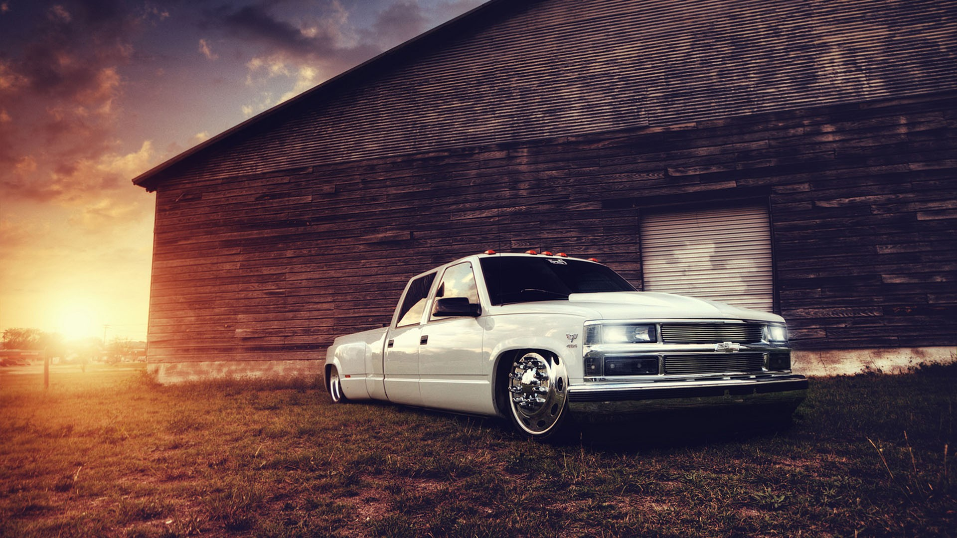 chevy truck full hd wallpaper and background image | 1920x1080 | id