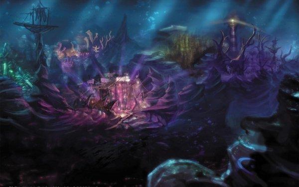 Fantaisie Océan Fond d'écran HD   Image
