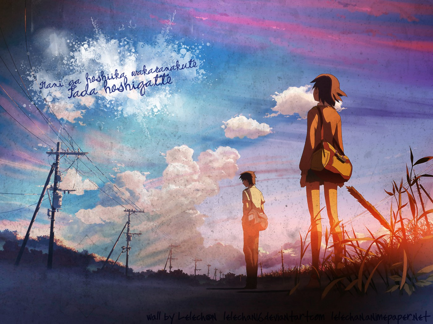 5 Centimeters Per Second Wallpaper And Background Image