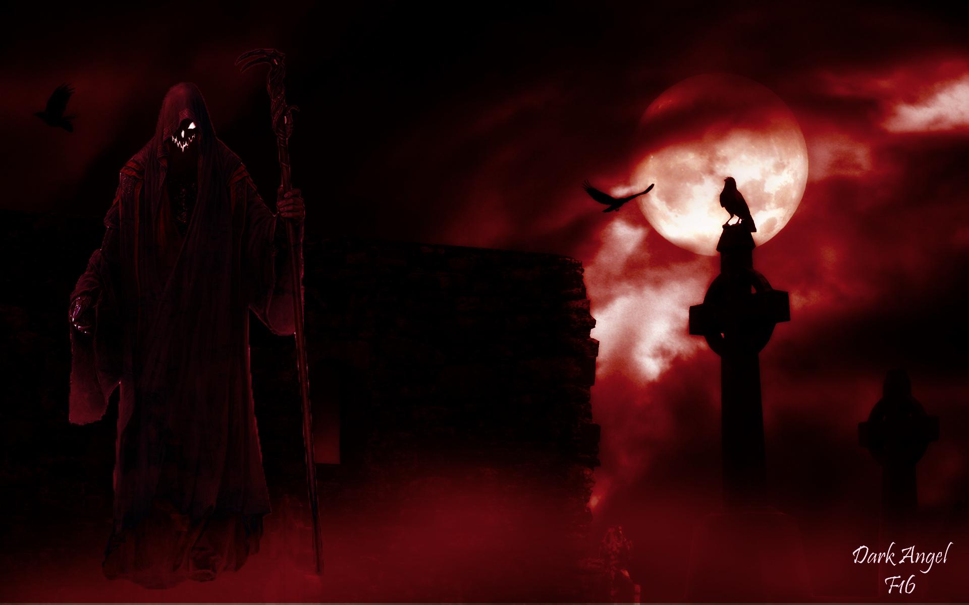 Sfondi Black Angel