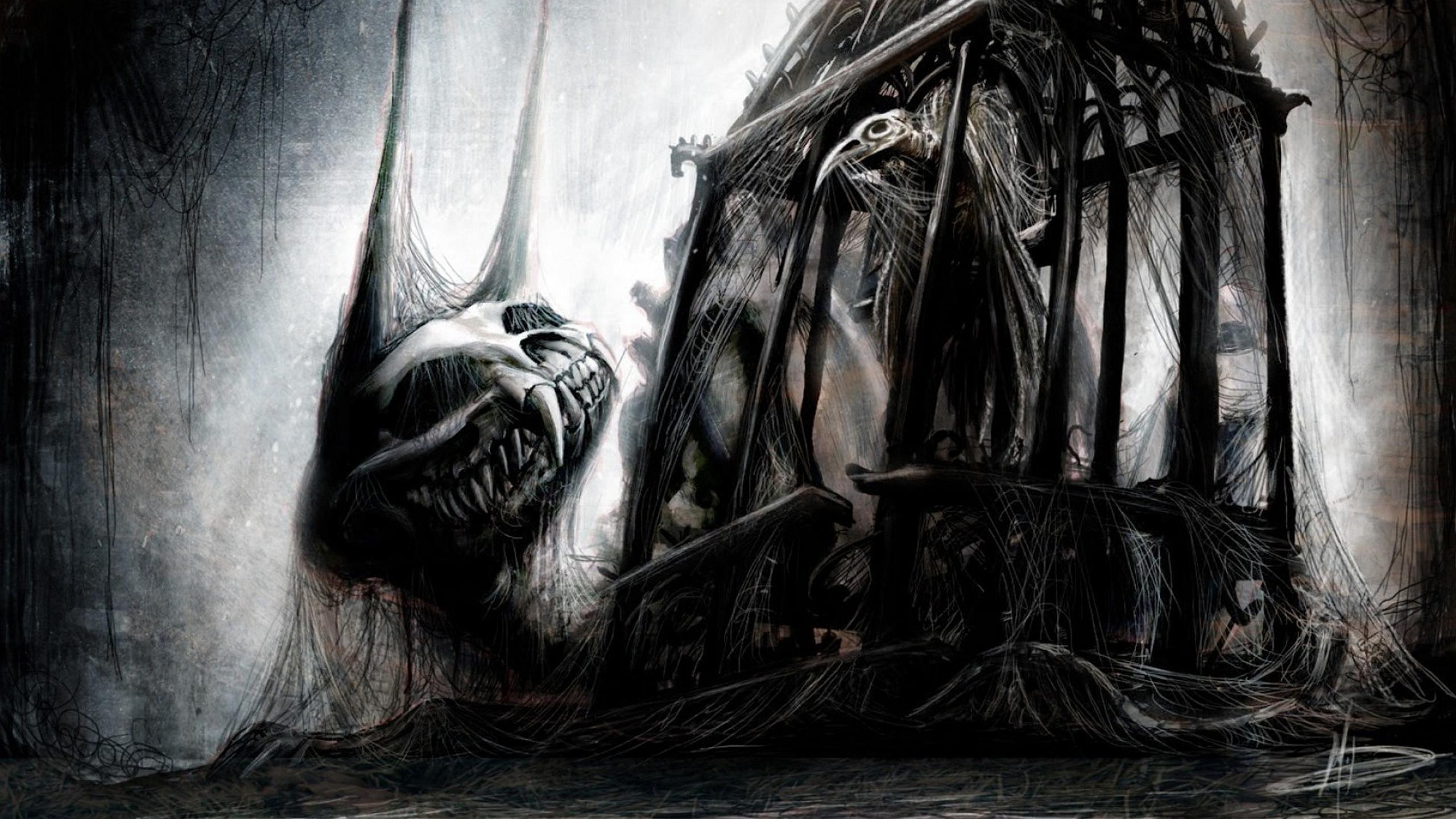 Creepy Hd Wallpaper: Creepy HD Wallpaper