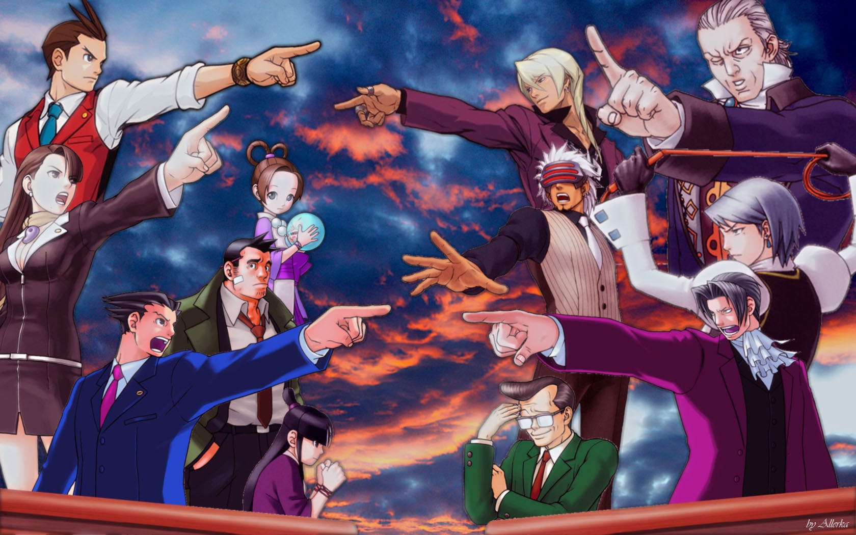 40 Ace Attorney Hd Wallpapers Background Images Wallpaper Abyss