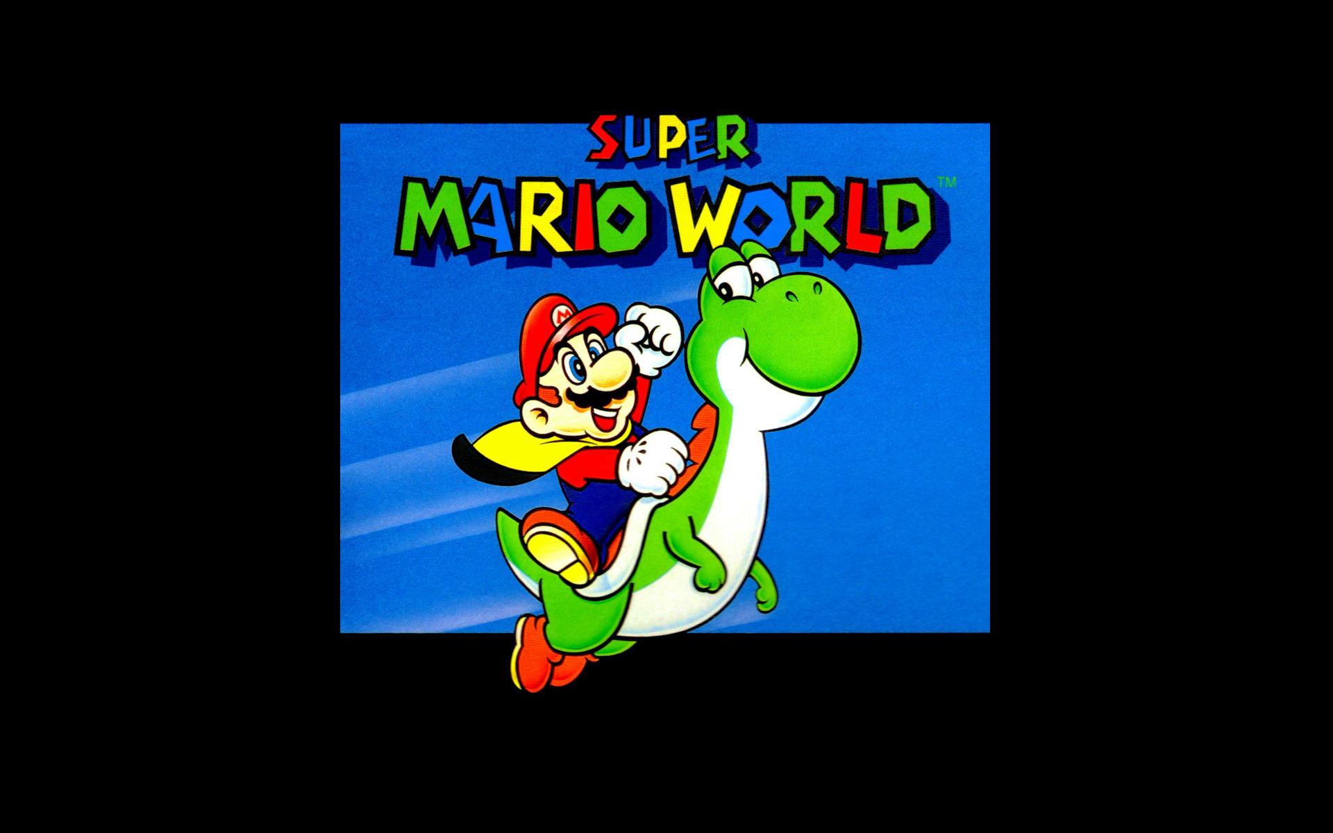 Super Mario World Hd Wallpaper Background Image 1920x1200 Id