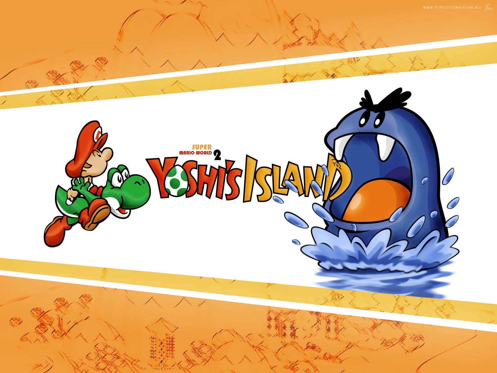 Video Game - Super Mario World 2: Yoshi's Island  Wallpaper
