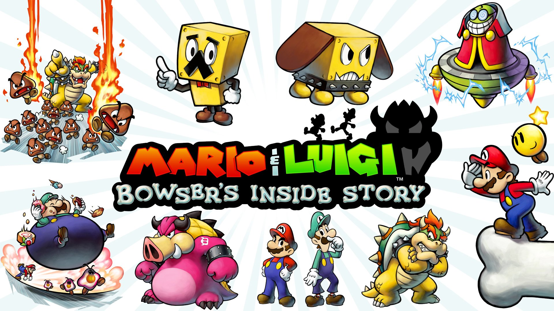 8 Mario Luigi Bowser S Inside Story Hd Wallpapers Background