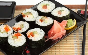 Food - Sushi Wallpapers and Backgrounds ID : 332108
