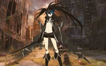 Anime - Black Rock Shooter Wallpapers and Backgrounds ID : 332734