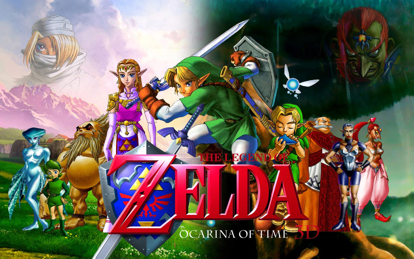 Wii U Screen Savers : The legend of zelda ocarina time wallpaper and