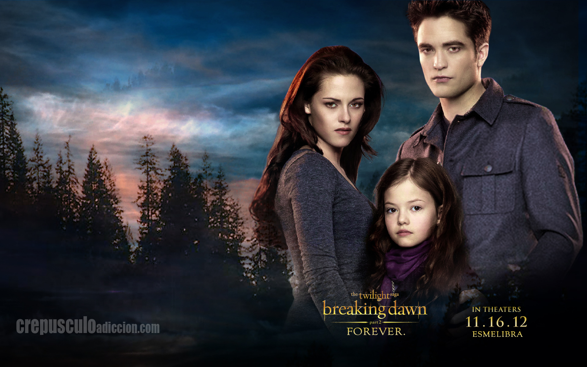 the twilight saga: breaking dawn - part 2 full hd wallpaper and