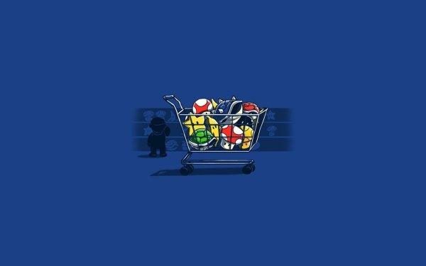 Video Game Mario Kart Mario HD Wallpaper   Background Image