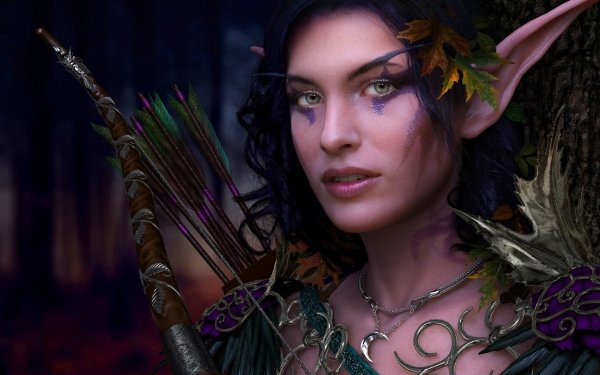 Fantasy Elf HD Wallpaper   Background Image