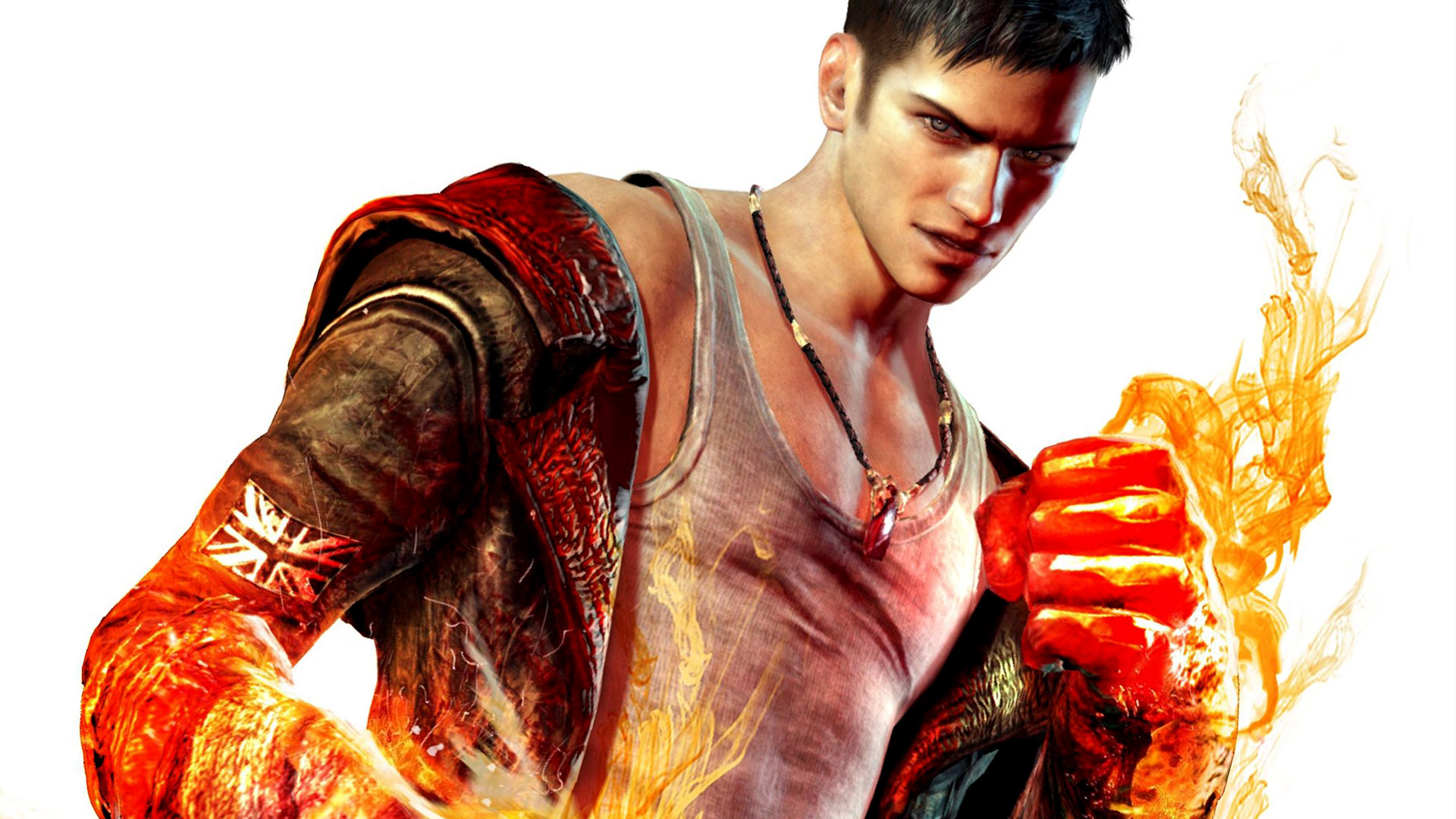 Dmc devil may cry full hd wallpaper and background image video game dmc devil may cry wallpaper voltagebd Images