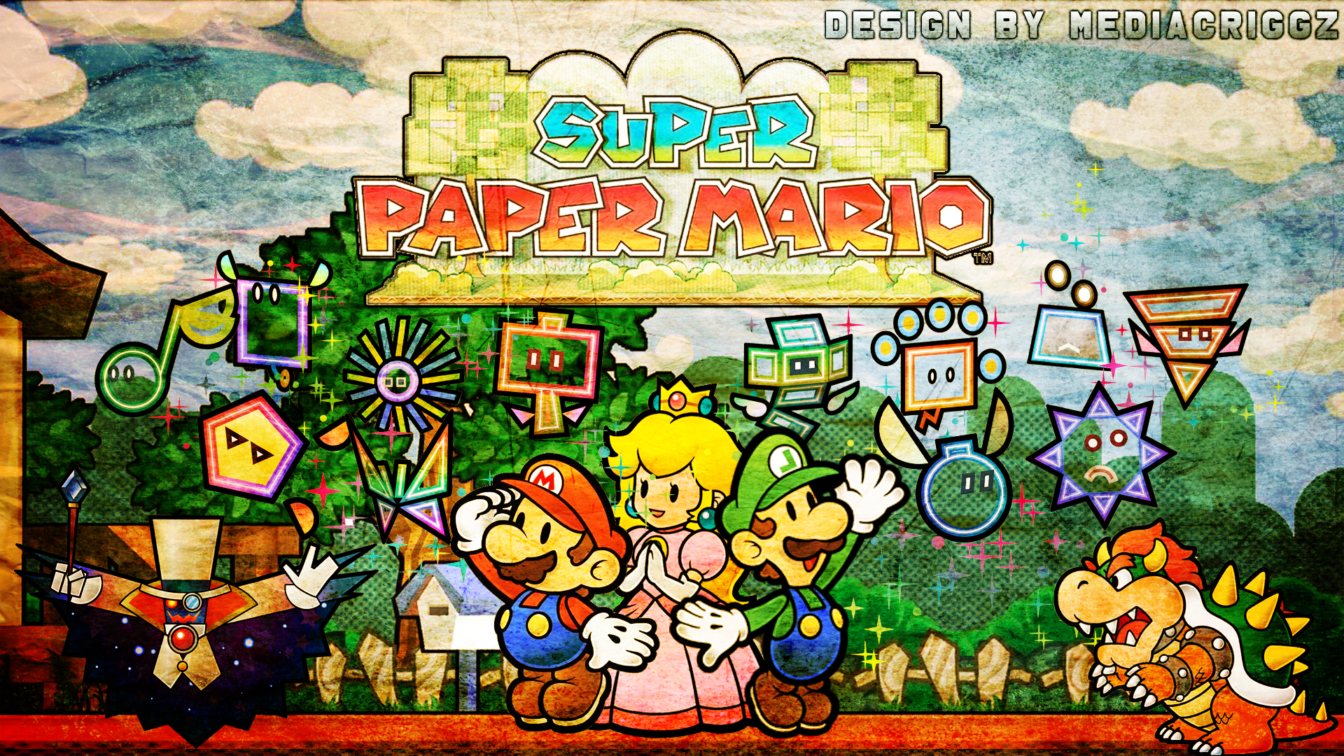 Paper Mario Worldloads Of Cool Games