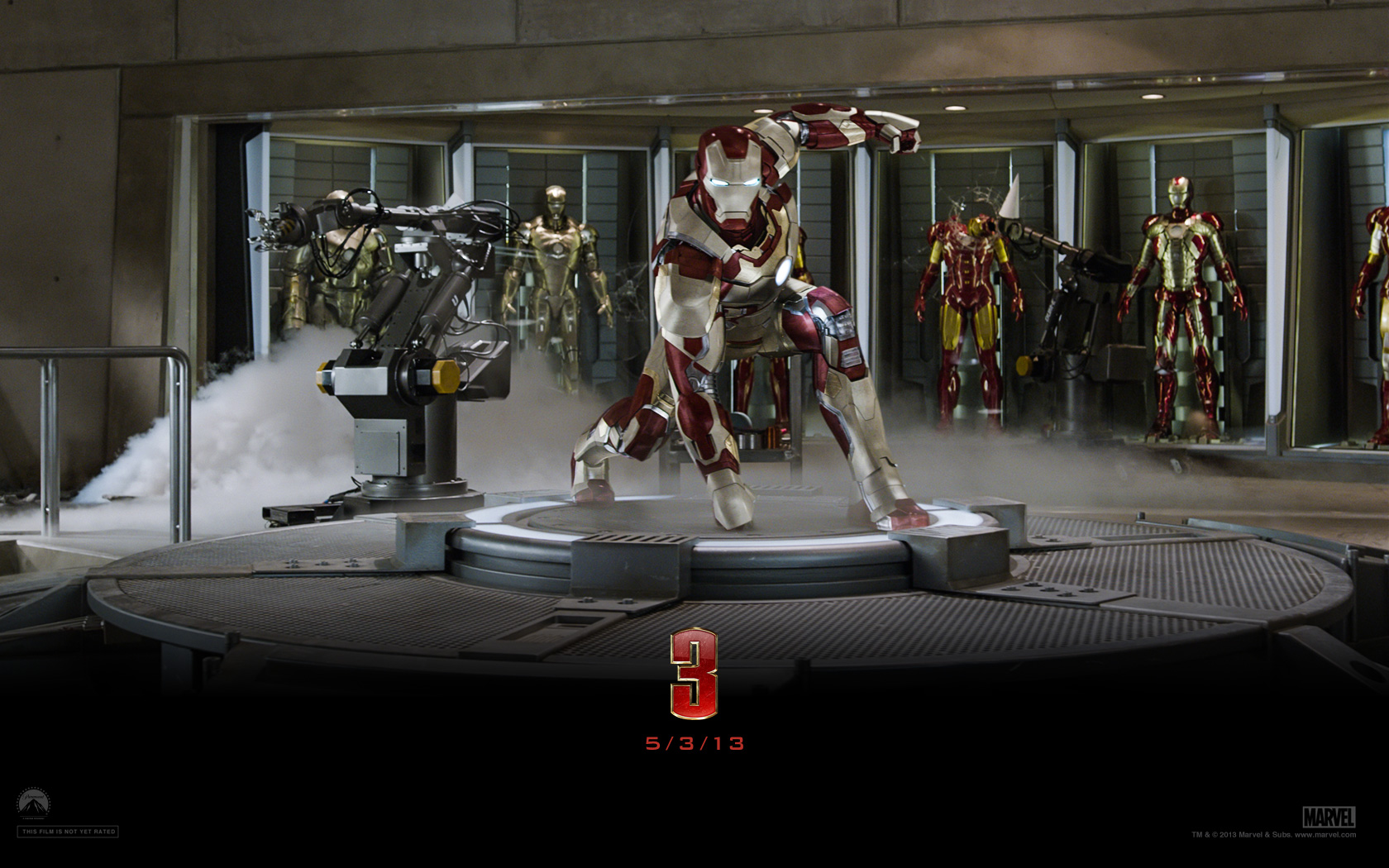 Movie - Iron Man 3  Iron Man Tony Stark Stark Wallpaper