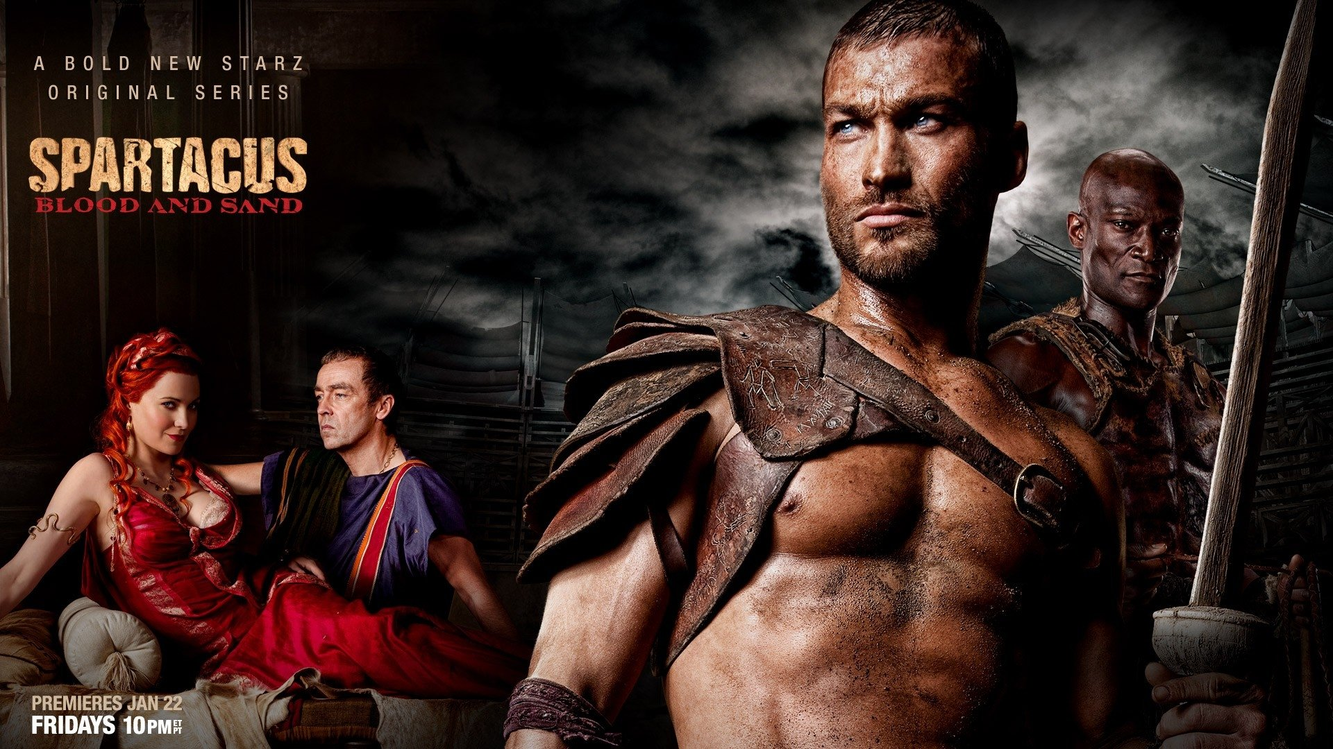 TV Show - Spartacus: Blood And Sand  Spartacus Wallpaper