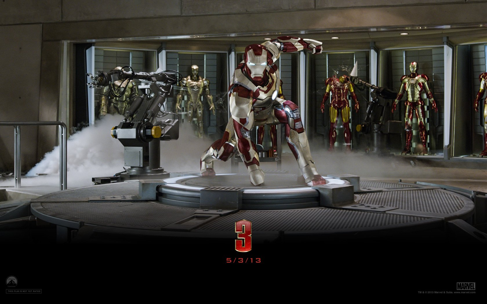 Movie - Iron Man 3  Iron Man Tony Stark Wallpaper