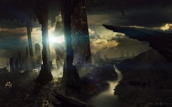 Science-Fiction - Landschaft Wallpapers and Backgrounds ID : 334805