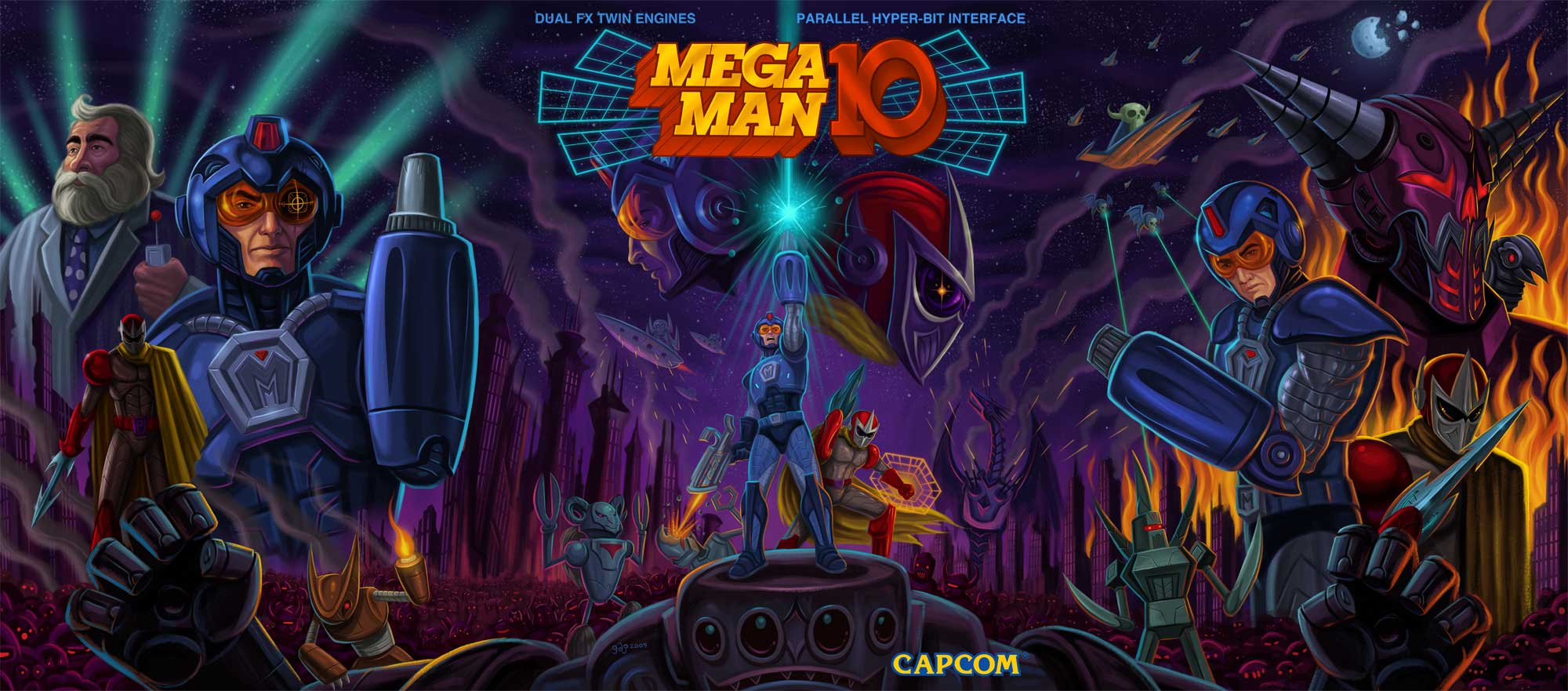2 mega man 10 hd wallpapers backgrounds wallpaper abyss
