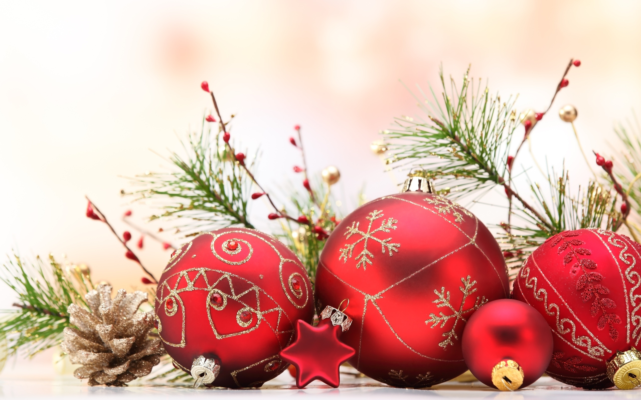 christmas full hd wallpaper and background image | 2560x1600 | id:337729
