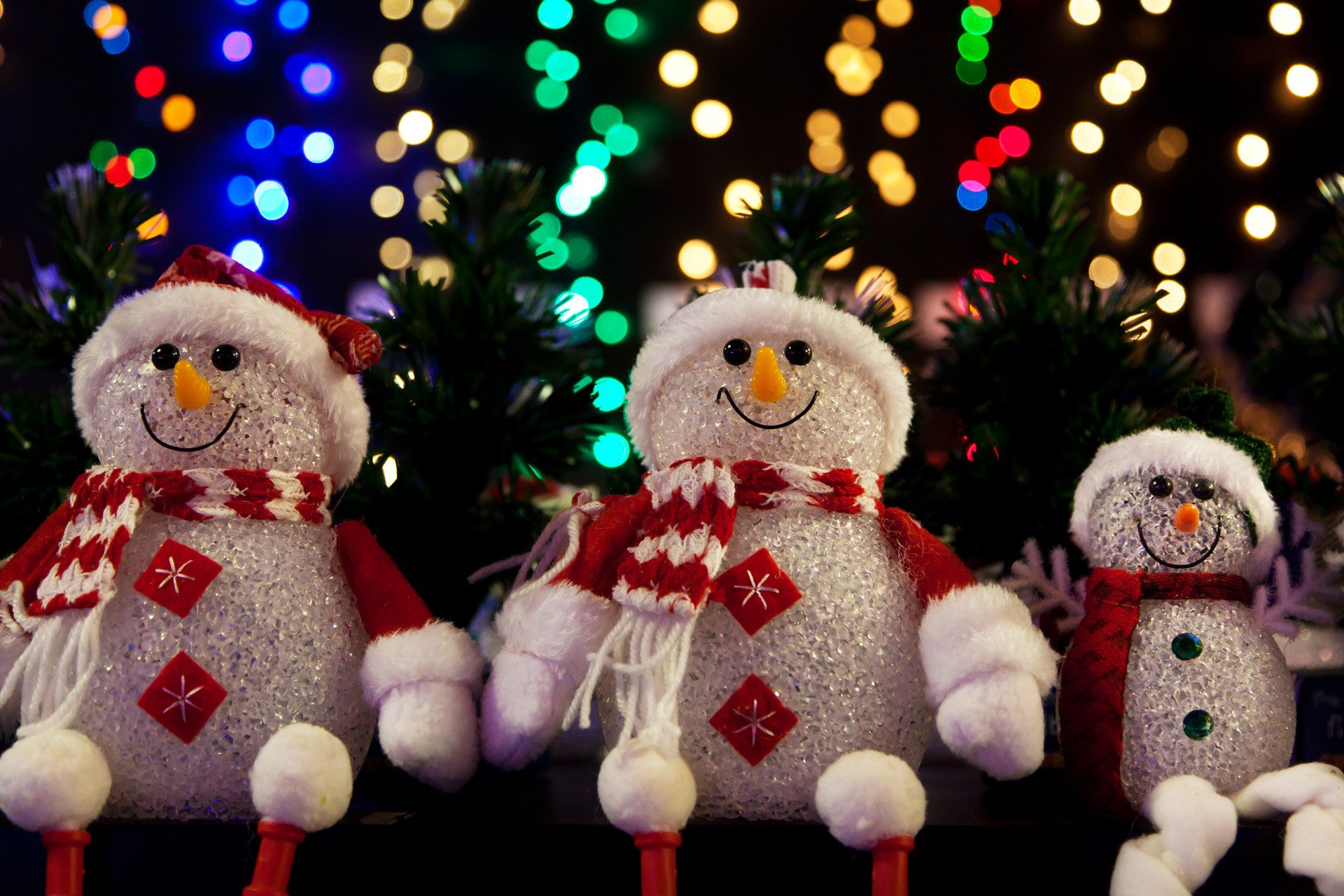 Holiday - Christmas  Snowman Wallpaper